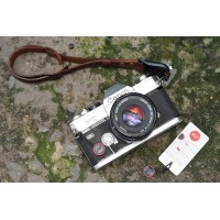 Dây đeo tay máy ảnh Da Bò móc Peak Design TA1247