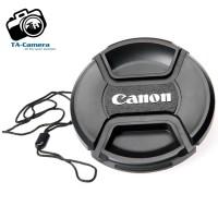 Lens cap - Nắp ống kính Canon size 40.5-49-52-55-58-62-67-72-77-82mm