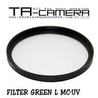 Filter Green L MC-UV size 49-52-55-58-62-67-72-77-82mm