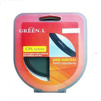 Filter Green CPL size 49-52-55-58-62-67-72-77-82mm