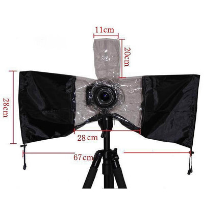 Áo mưa cho máy ảnh DSLR