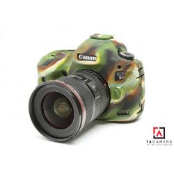 Vỏ cao su - Cover máy ảnh Canon 5DIII - 5Ds - 5Dr - Màu Camo