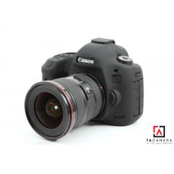 Vỏ cao su - Cover máy ảnh Canon 5DIII - 5Ds - 5Dr - Màu Đen