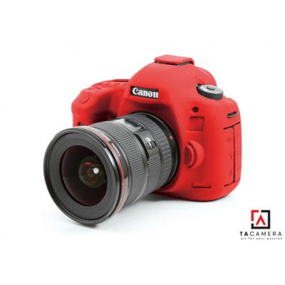 Vỏ cao su - Cover máy ảnh Canon 5DIII - 5Ds - 5Dr - Màu Đỏ
