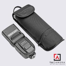 Túi đựng đèn flash có ngăn pin
