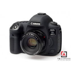 Vỏ cao su - Cover máy ảnh Canon 5DIV / 5D4 - Màu Đen