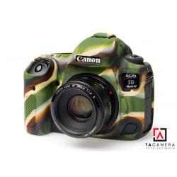 Vỏ cao su - Cover máy ảnh Canon 5DIV / 5D4 - Màu Camo