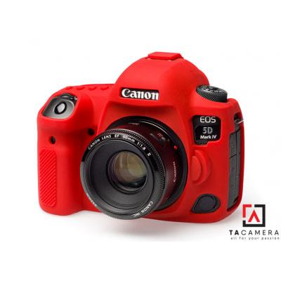 Vỏ cao su - Cover máy ảnh Canon 5DIV / 5D4 - Màu Đỏ