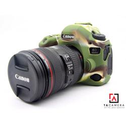 Vỏ cao su - Cover máy ảnh Canon 6Dii - 6D2 - Màu Camo
