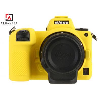 Vỏ cao su - Cover máy ảnh Nikon Z6 / Z7 - Màu Vàng