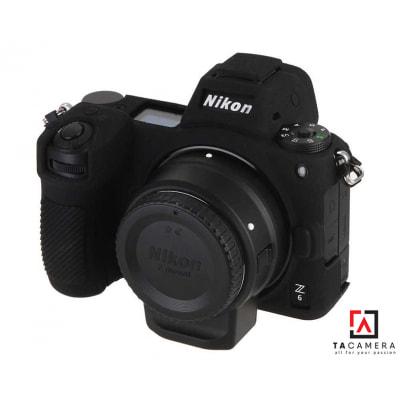 Vỏ cao su - Cover máy ảnh Nikon Z6 / Z7 - Màu Đen