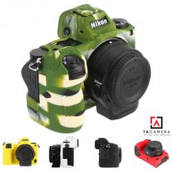 Vỏ cao su - Cover máy ảnh Nikon Z6 / Z7 - Màu Camo