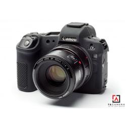 Vỏ cao su - Cover máy ảnh Canon EOS R - Màu Đen