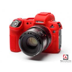 Vỏ cao su - Cover máy ảnh Canon EOS R - Màu Đỏ