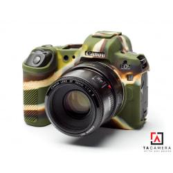 Vỏ cao su - Cover máy ảnh Canon EOS R - Màu Camo