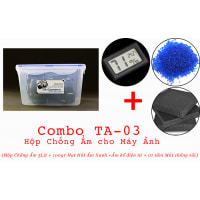 Combo hộp chống ẩm Máy Ảnh TA-03