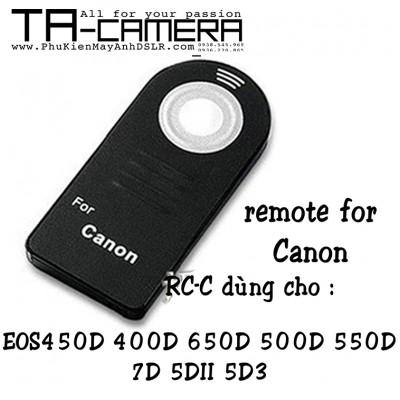 Remote máy ảnh for Canon