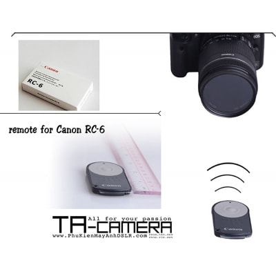 Remote máy ảnh for Canon RC-6