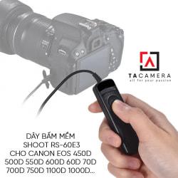 Dây bấm mềm máy ảnh for Canon RS-60E3