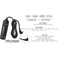 Dây bấm mềm máy ảnh for Canon