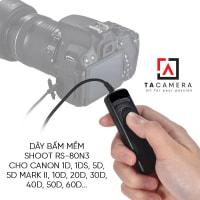 Dây bấm mềm máy ảnh for Canon RS-80N3