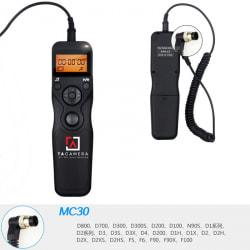 Dây Bấm Mềm Máy Ảnh Có LCD for Nikon MC-30