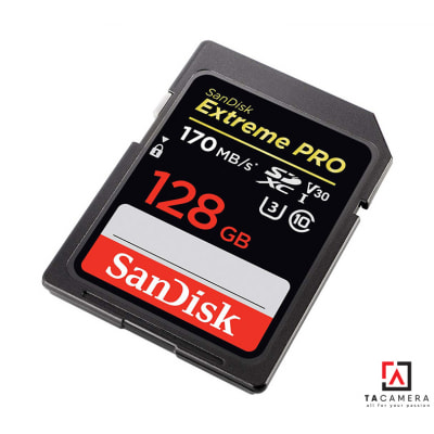 Thẻ nhớ ExtremePRO SDXC U3 128GB 170mb/s (BH 24T)
