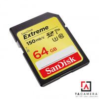 2141 Thẻ Nhớ SDXC SanDisk Extreme U3 V30 1000x 64GB 150MB/s