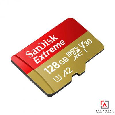 Thẻ Nhớ MicroSDXC SanDisk Extreme V30 A2 128GB 160MB/s (BH 24T)