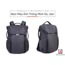 Balo Máy Ảnh Thông Minh Xiu Jian 20L