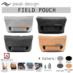 Túi Peak Design Field Pouch Accessory Bag (Black/Ash/Charcoal/Tan)