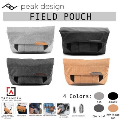 Túi Peak Design Field Pouch Accessory Bag (Black/Ash/Charcoal/Tan)