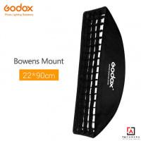 Bowen Mount Softbox Godox 22x90cm - Có Tổ Ong