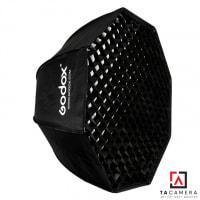 Bowen Mount Softbox Dù Godox Portable 80cm - Có Tổ Ong