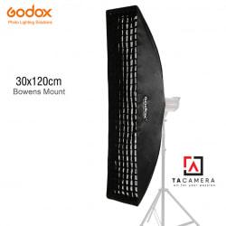 Bowen Mount Softbox Godox 30x120cm - Có Tổ Ong