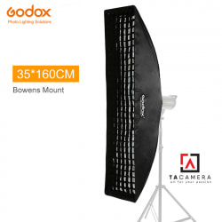 Bowen Mount Softbox Godox 35x160cm Tổ Ong