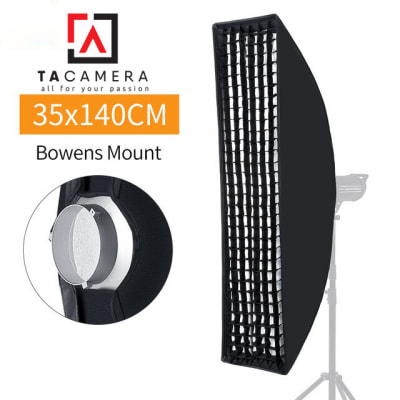 Bowen Mount Softbox Godox 35x140cm Tổ Ong