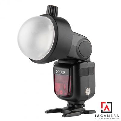 Combo Tản Sáng Godox AK-R11 Dome Diffuser + Đế Nam Châm S-R1