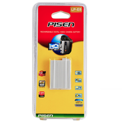 Pin - Sạc Pisen LP-E8 for Canon EOS 550D, 600D, 650D, 700D