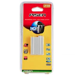 Pin Pisen LP-E8 for Canon EOS 550D, 600D, 650D, 700D