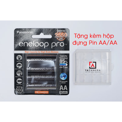 Pin Eneloop Pro AA Đen