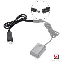 Cáp Chuyển Nguồn USB Cho Pin Ảo Dùng Sạc Dự Phòng - Điện Trực Tiếp