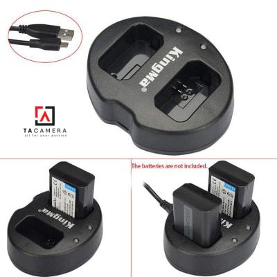 Pin - Sạc Đôi KingMa Cổng USB Cho Sony FW50 1080mAh