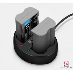 Pin - Sạc Đôi KingMa Cổng USB Cho Nikon EN-EL3e+