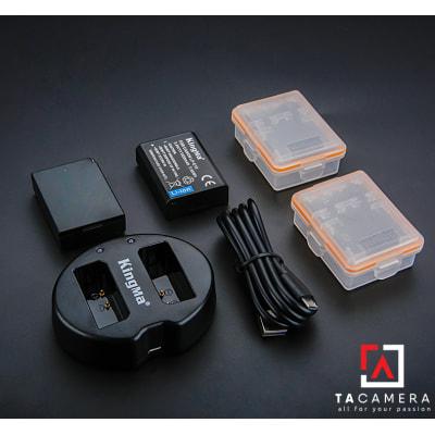 Pin - Sạc Đôi KingMa Cổng USB Cho Canon LP-E10