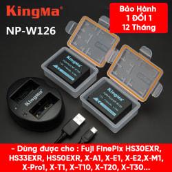 Pin - Sạc KingMa Cho Fuji NP-W126 1140mAh