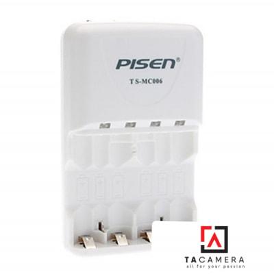 Sạc Pin AA/AAA Pisen TS-MC006 (Sạc chậm)