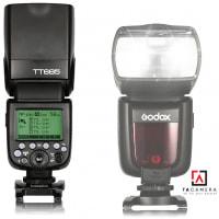 Đèn Flash Godox TT685 TTL for Canon/Nikon/Sony Tặng kèm Omi