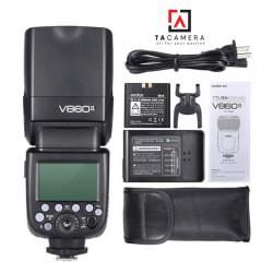 Đèn Flash Godox V860 II-TTL for Canon - Tặng Kèm Omi