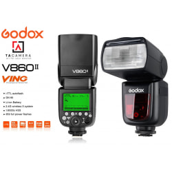 Đèn Flash Godox V860 II-TTL for Fujifilm - Tặng Kèm Omi